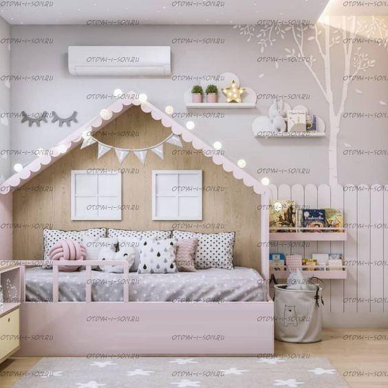 Кровать Домик Butterfly №IR8 (любые размеры)