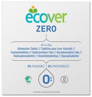 Ecover Таблетки для посудомоечной машины Zero 500 г