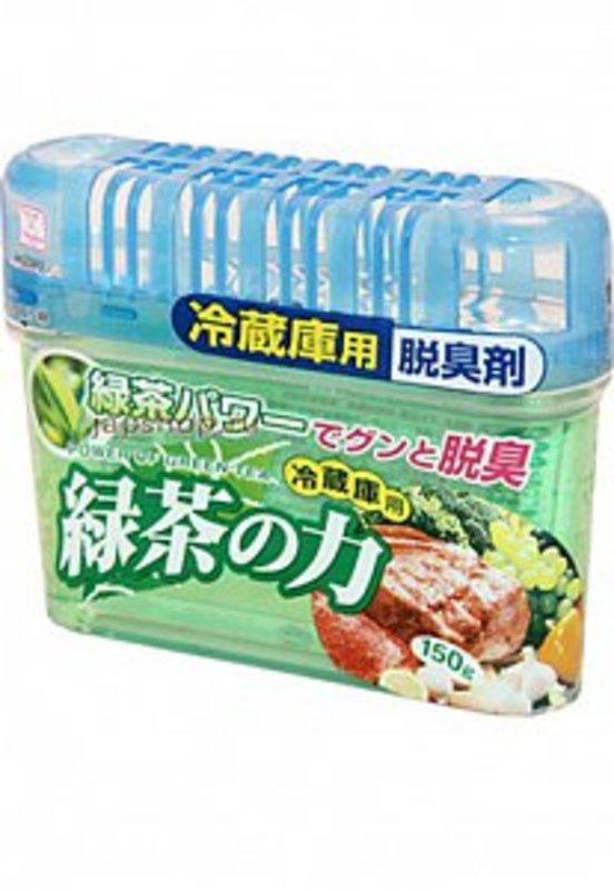 АКЦИЯ! Kokubo Deodorant POWER OF GREEN TEA Дезодорант-поглотитель неприятных запахов для холодильника с зеленым чаем