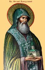 Икона Антоний Краснохолмский преподобный