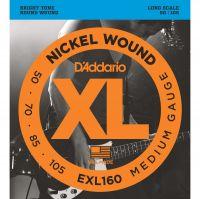 D'ADDARIO EXL160 (050-105) Струны для бас-гитары (4 стр.)