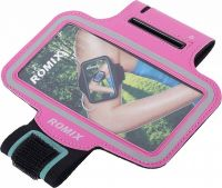 "Спортивный чехол для смартфона Romix Arm Belt (RH07-5.5) для смартфона 5.5"" (Pink)"