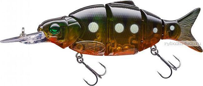 Воблер Sprut Namazu  90S  90 мм / 14,5 гр / Заглубление: 0,8-1,5 м / цвет: GGRP-UV