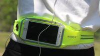 "Спортивный чехол на пояс Romix Touch Screen Waist Bag (RH16-4.7BK) для смартфона 4.7"" (Green) фото2"