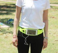 "Спортивный чехол на пояс Romix Touch Screen Waist Bag (RH16-4.7BK) для смартфона 4.7"" (Green) фото3"