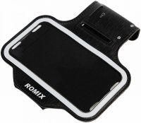 "Спортивный чехол для смартфона Romix Arm Belt (RH07-5.5) для смартфона 5.5"" (Black) фото2"