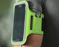 "Чехол спортивный на руку Romix Arm Belt (RH07-4.7) для смартфона 4.7"" (Green) фото2"