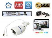 Видеонаблюдение на 1 уличную камеру 2мП Full HD