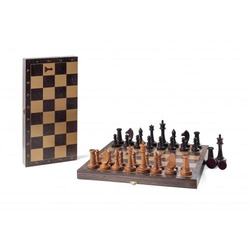 Шахматы гроссмейстерские Классика 343-19 40x40см