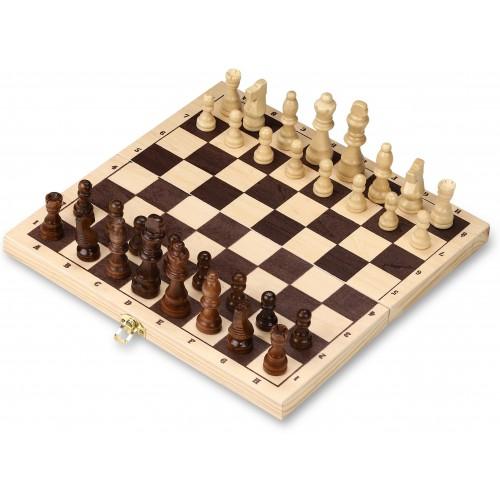 Шахматы деревянные русские 300-G 29,5x29,5см