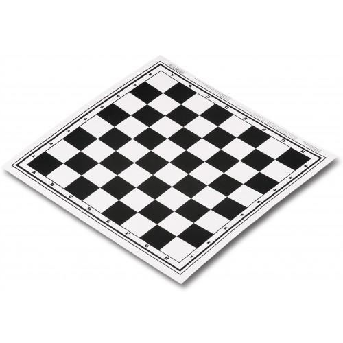 Поле шашки/шахматы SM-115 (ламинированный картон) 30x30см
