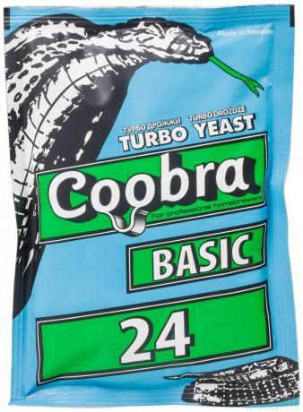 Спиртовые Турбо Дрожжи Coobra Basic 24, 180 г