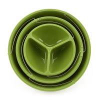 Складная пластиковая ваза Twistfold Party Bowls 3 яруса_5