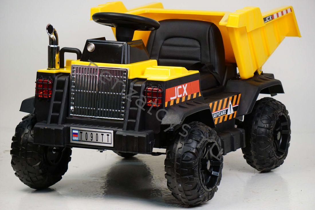 Электромобиль КАМАЗ T090TT кузов на электроприводе+лопата