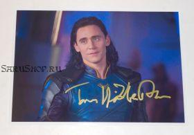 Автограф: Том Хиддлстон. Тор: Рагнарёк