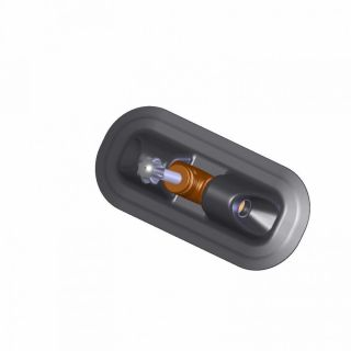Уключина овал (для весла 32 мм)