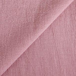 Ткань Марлевка пыльная роза