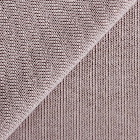Лоскут трикотажной ткани вязаный - капучино