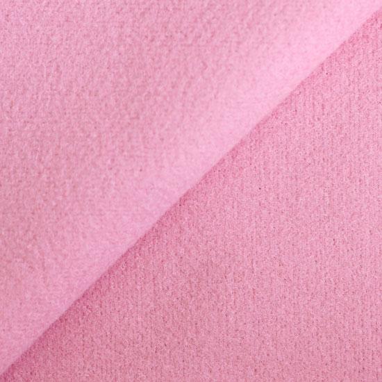 Лоскут пальтового трикотажа - розовый