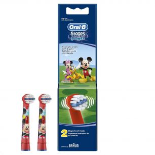 Насадка Oral-B Stages Kids Mickey (2 шт.)