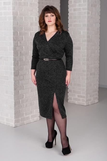 Платье арт.0266-11 черное, сандра