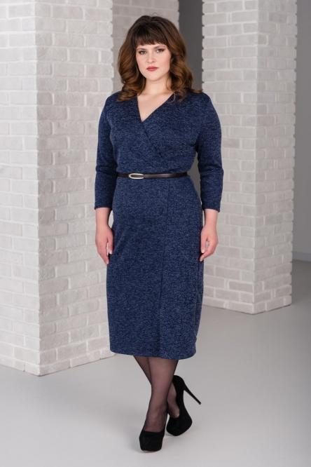 Платье арт.0266-09 темно-синие, сандра