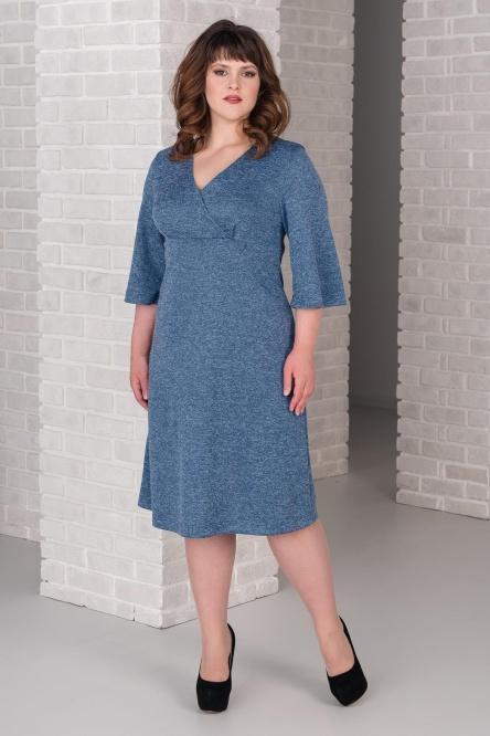 Платье арт.0265-16 голубое, сандра