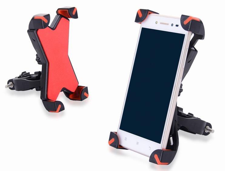 Универсальный велосипедный держатель для смартфона Phone Holder PH-666, 360°, цвет Черный