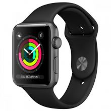 Apple Watch Series 3 42mm, black