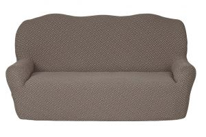 Чехол на 3х-местный диван без оборки , KAR 011-10 Vizon