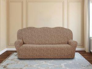 Чехол на 3х-местный диван без оборки ,KAR 002-03 Bej