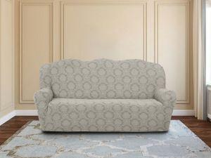 Чехол на 3х-местный диван без оборки ,KAR 007-02 Krem