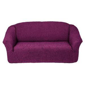 Чехол на 3х-местный диван без оборки ,фиолетовый