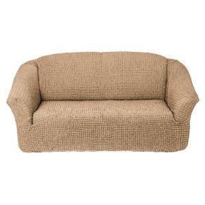 Чехол на 3х-местный диван без оборки,Бежевый