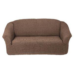 Чехол на 3х-местный диван без оборки,Какао