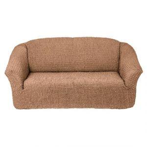 Чехол на 3х-местный диван без оборки,песочный