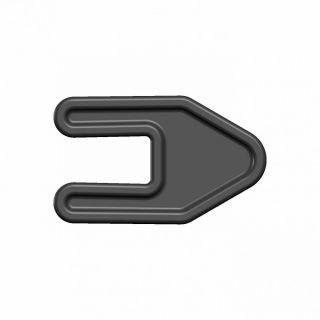 Заглушки стрингера С 9 мм (комплект)