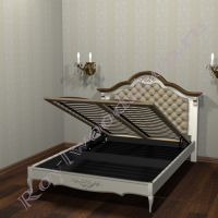 Кровать поднятый ортопедический блок