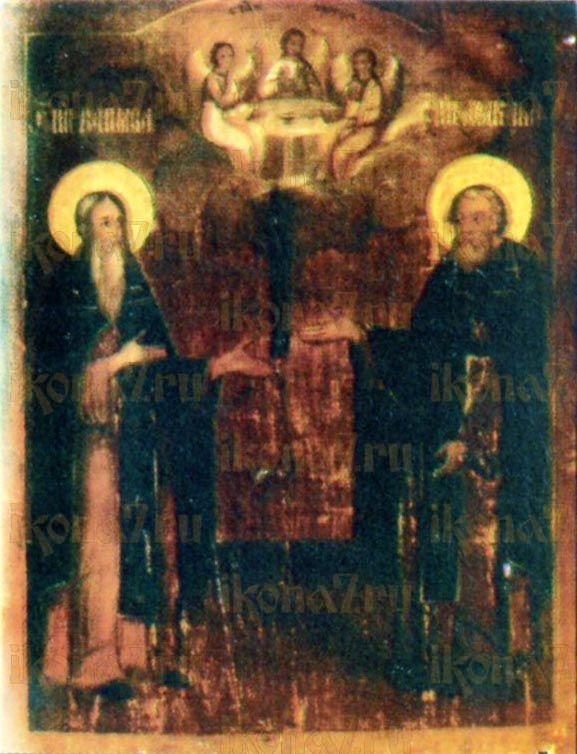 Икона Варнава Ветлужский преподобный