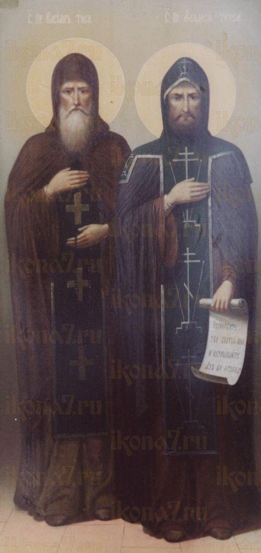Икона Вассиан Тиксненский преподобный