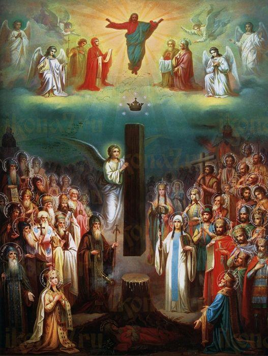 Икона Собор Грузинских Святых