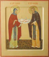 Икона Григорий Авнежский преподобномученик