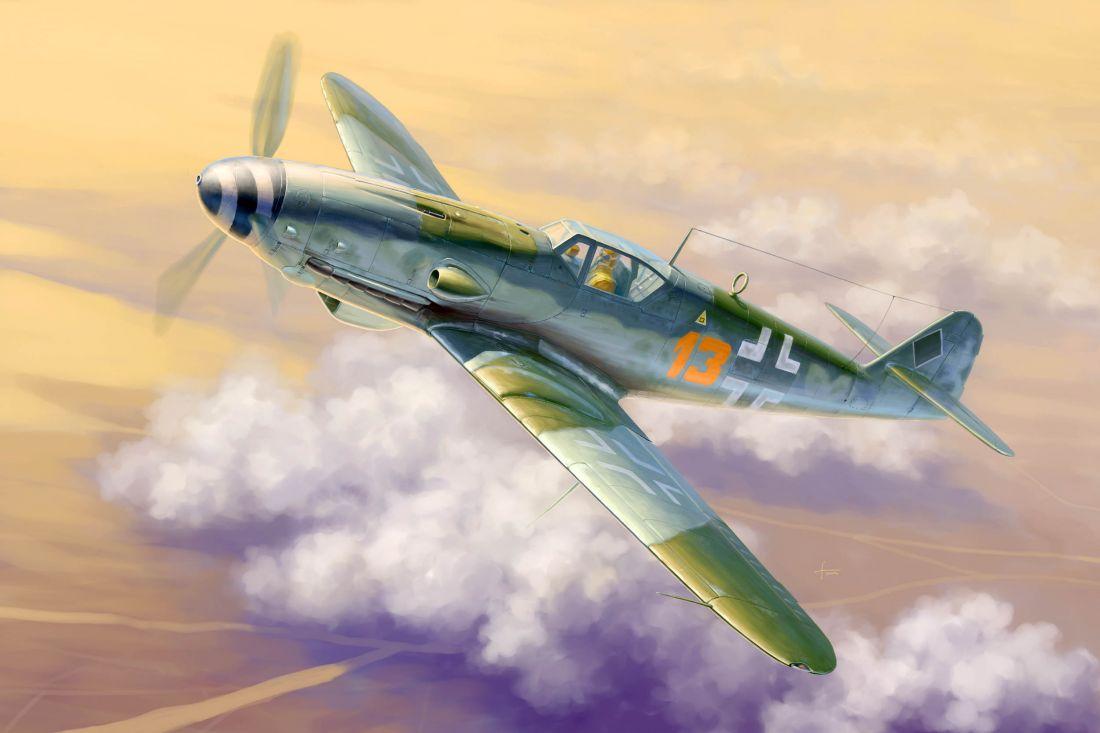 Самолет  Messerschmitt Bf-109K-4 (1:32)
