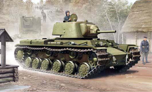 Танк  Russian KV-1 Mod 1939  (1:35)