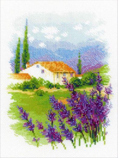 Набор для вышивания крестом Ферма в Провансе №1691 фирма Риолис