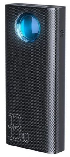 Аккумулятор Baseus Amblight Power Bank PD3.0+QC3.0, 30000 mAh