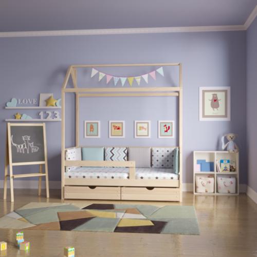 Кроватка-домик «Классика»