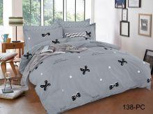 Постельное белье Поплин PC 1.5-спальный Арт.15/138-PC