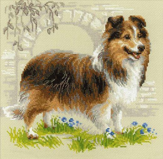 Набор для вышивания крестом Шелти №1710 фирма Риолис