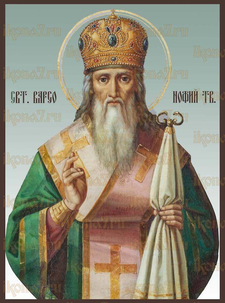Икона Варсонофий Тверской святитель